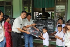 Stationary(backpack)donation